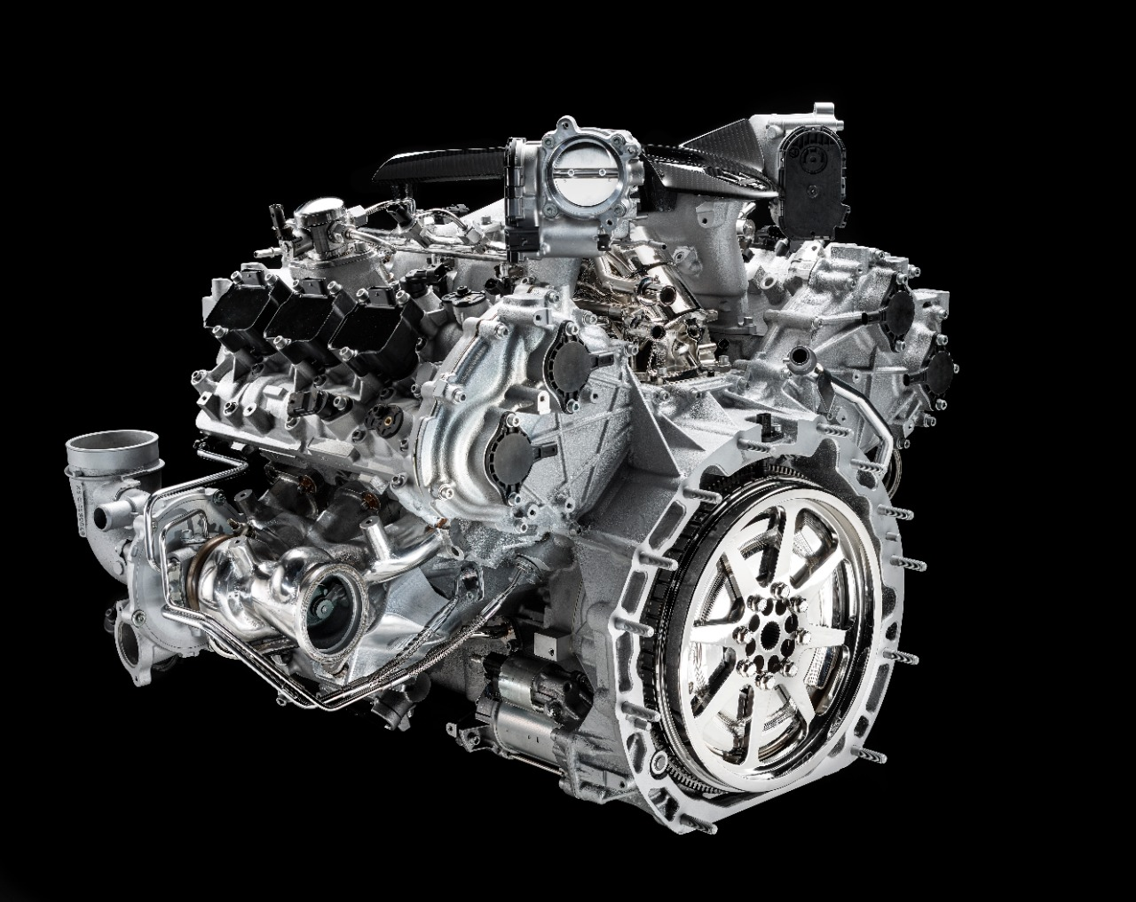 630 hp engine in its new MC20