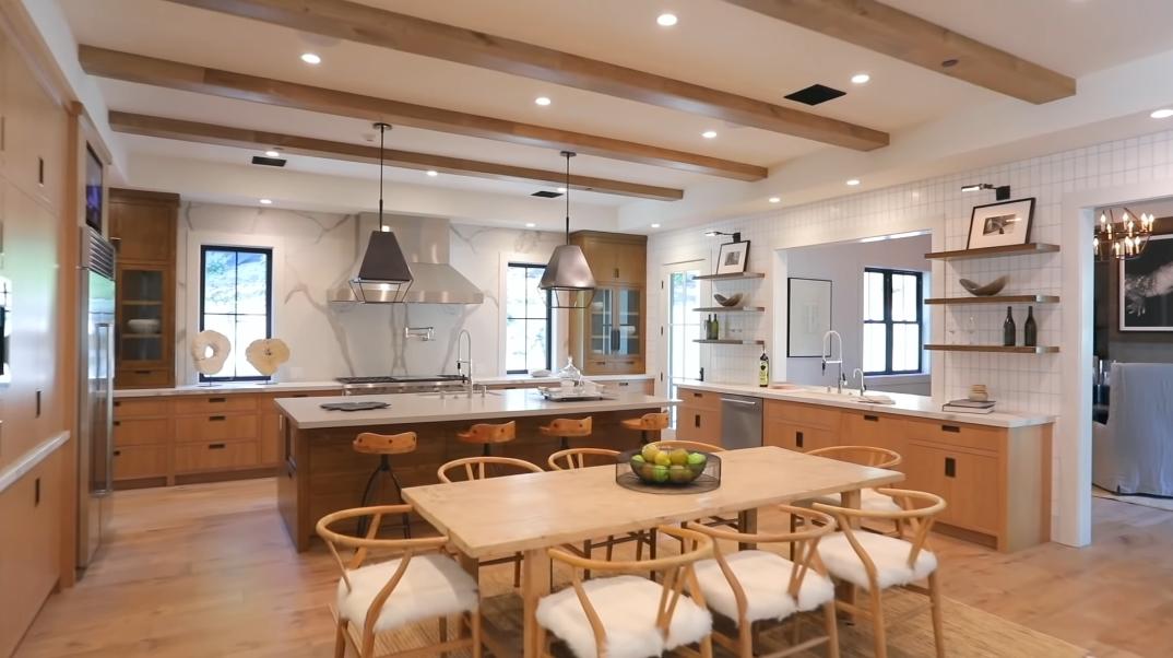 51 Interior Design Photos vs. 4701 Balboa Ave, Encino, CA Ultra Luxury Modern Rustic Mansion Tour