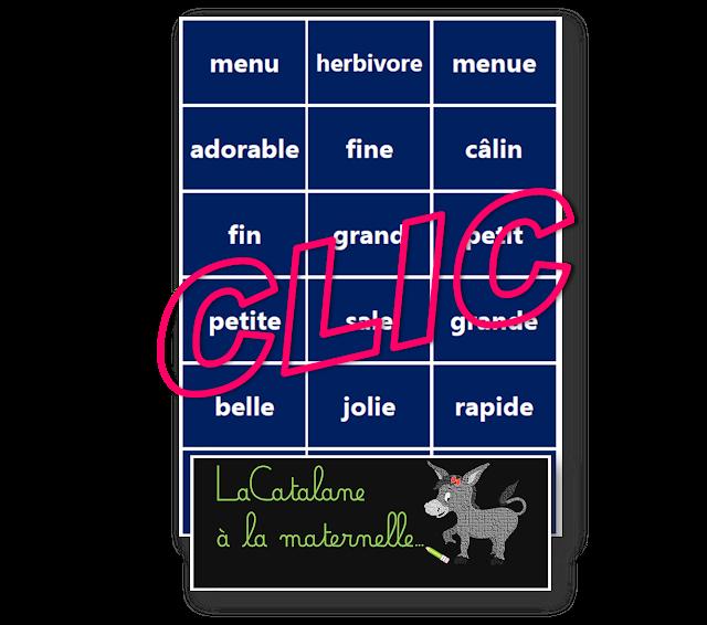 La ferme Montessori - adjectifs (LaCatalane)