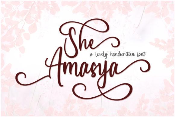 She Amasya Font