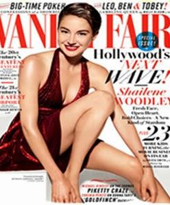 Shailene Woodley En Portada de Vanity