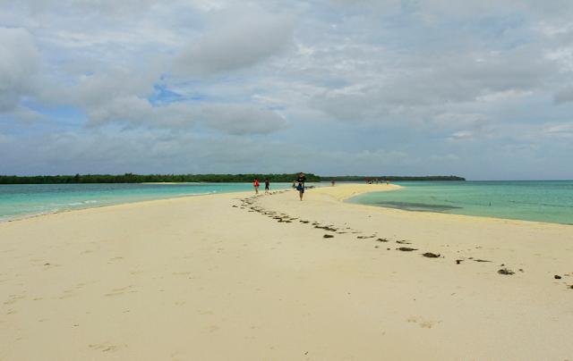Ngurtafur Beach's White Sand
