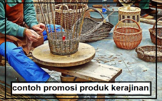 promosi produk kerajinan