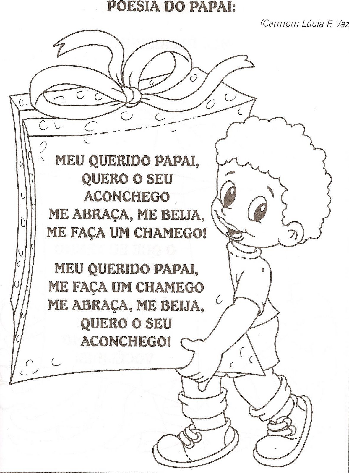 Atividades Para Educação Infantil Dia Dos Pais Parte 2 O Mundo Das