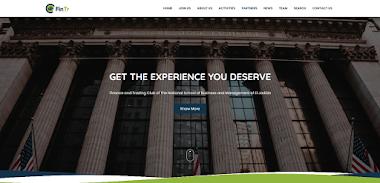 FinTr Club Website