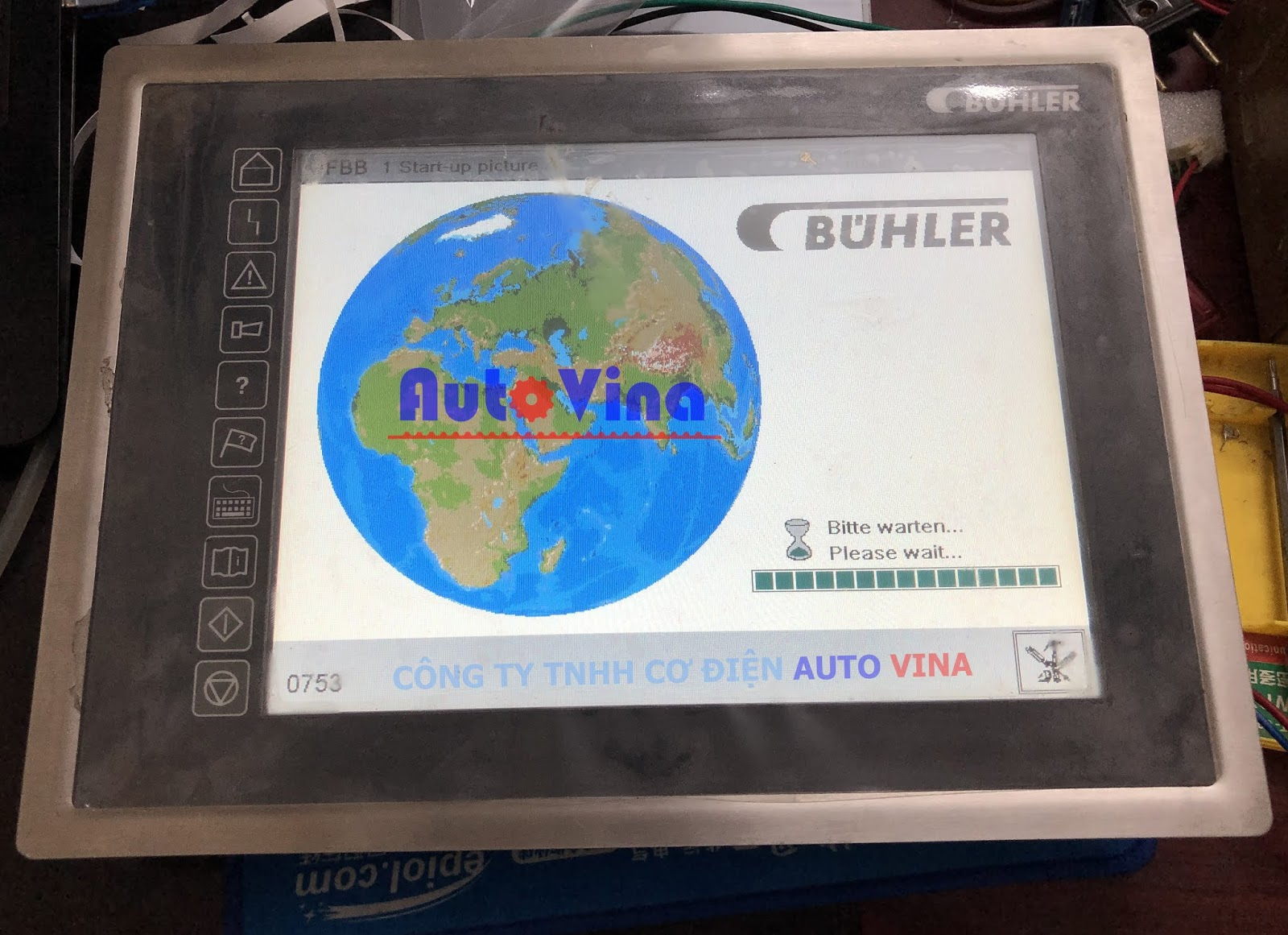 Màn hình máy BUHLER execeet electronics AG PC-Panel LCP-104