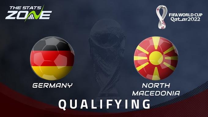 مشاهدة مباراة ألمانيا و مقدونيا الشمالية بث مباشر