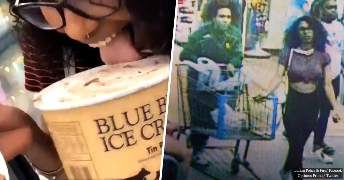 Woman Licked A Tub Of Ice Cream In A Viral Video And Is Now Facing Up To 20 Years In Prison