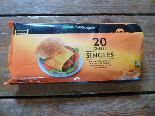 Picture of a packet of ASDA cheese singles