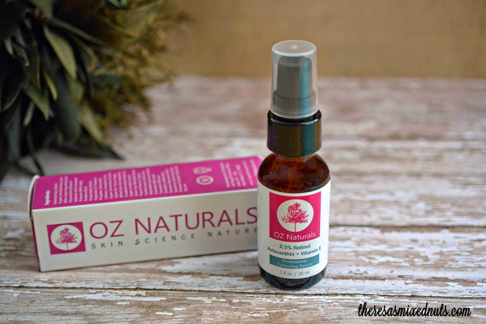 oz naturals retinol