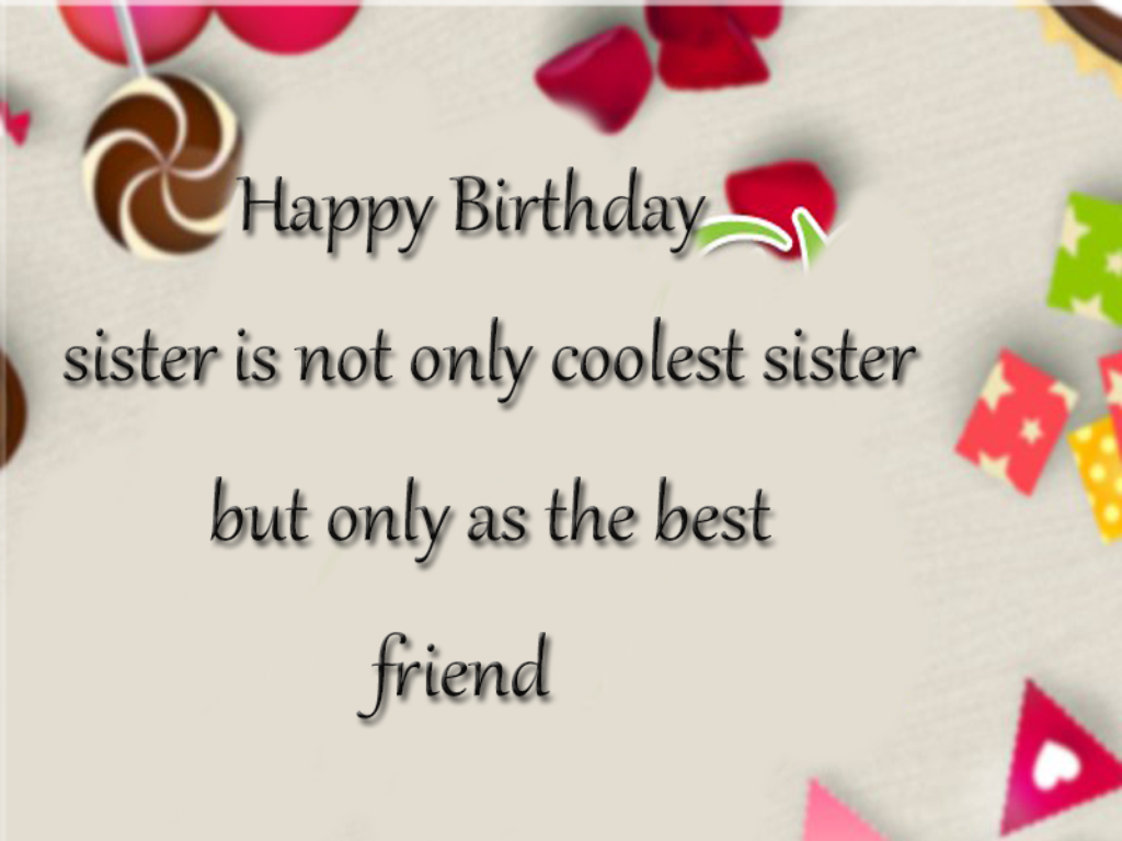 Birthday Wishes For Sister Happy Birthday Sister Greeting Cards