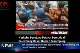 Tak Diberi Uang Untuk Beli Sabu, Pemuda Ini Bakar 18 Rumah Warga di Palembang