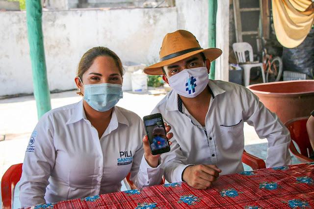 Los migrantes yucatecos, ejemplo de esfuerzo, solidaridad y trabajo en equipo: Pili Santos