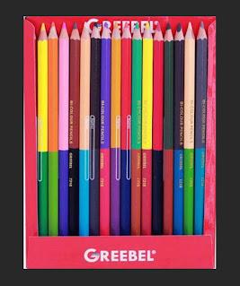 Pensil Greebel Bi colour