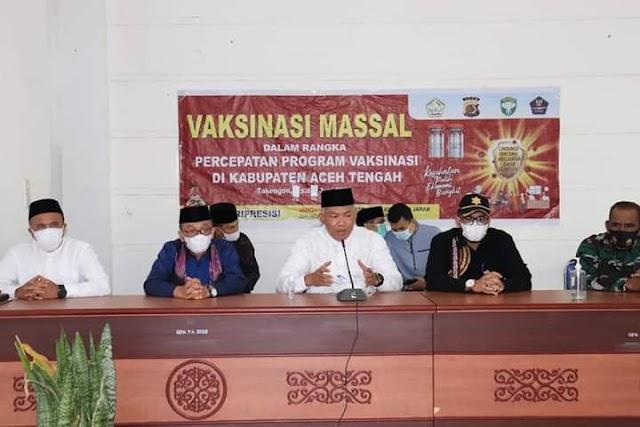 Sekda Aceh Tengah Subhandhy, Pimpin Pengantar Tugas Camat Bintang