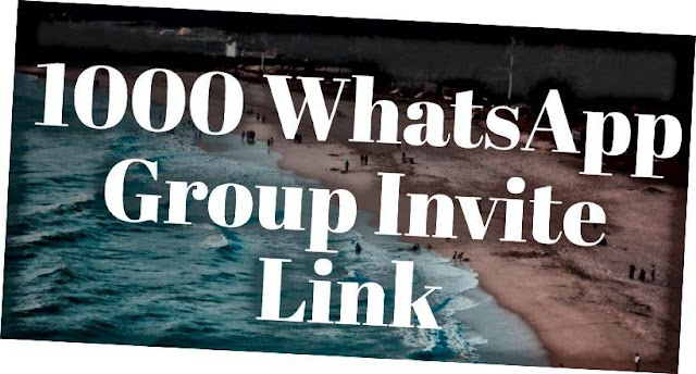1000+ hot WhatsApp Group Invite Link