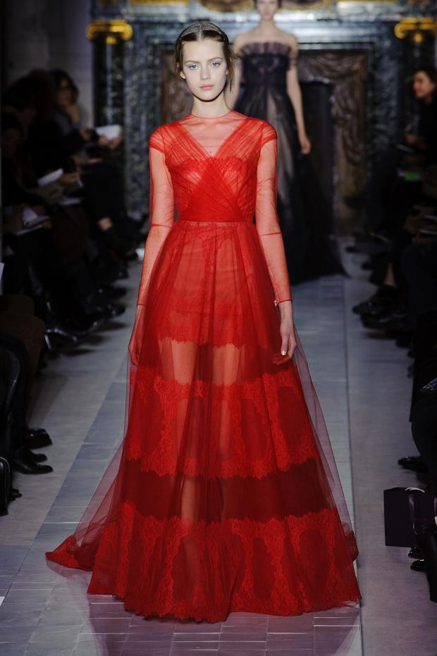 Burcu arkut the perfect red dresses for Haute couture red