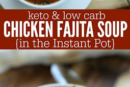 Keto Chicken Fajita Soup In The Instant Pot