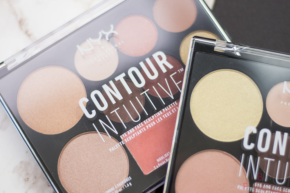 Contour Intuitive Eye & Face Sculpting Palette Warm Zone