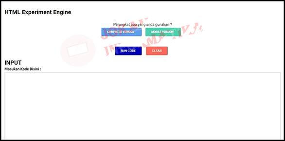 Cara Membuat HTML Experiment Engine Untuk Belajar Coding HTML Secara Offline - JOKAM INFORMATIKA