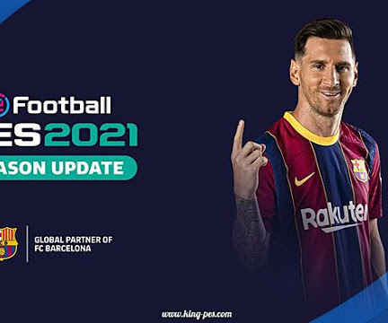 PES 2017 Messi Start Screen Style PES 2021