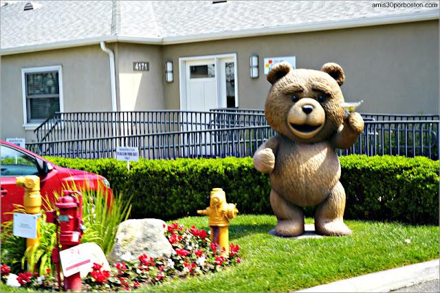 Ted en el Universal Studios de Los Ángeles en California