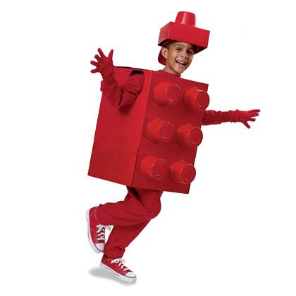 Lego Man Costume for Halloween