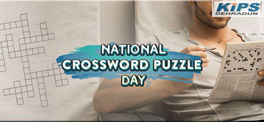 National Crossword Puzzle Day Wishes Beautiful Image