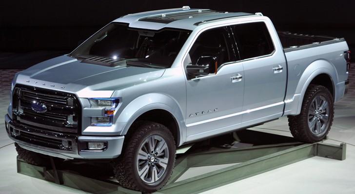 Ford Atlas Concept Pickup Truck The F Future