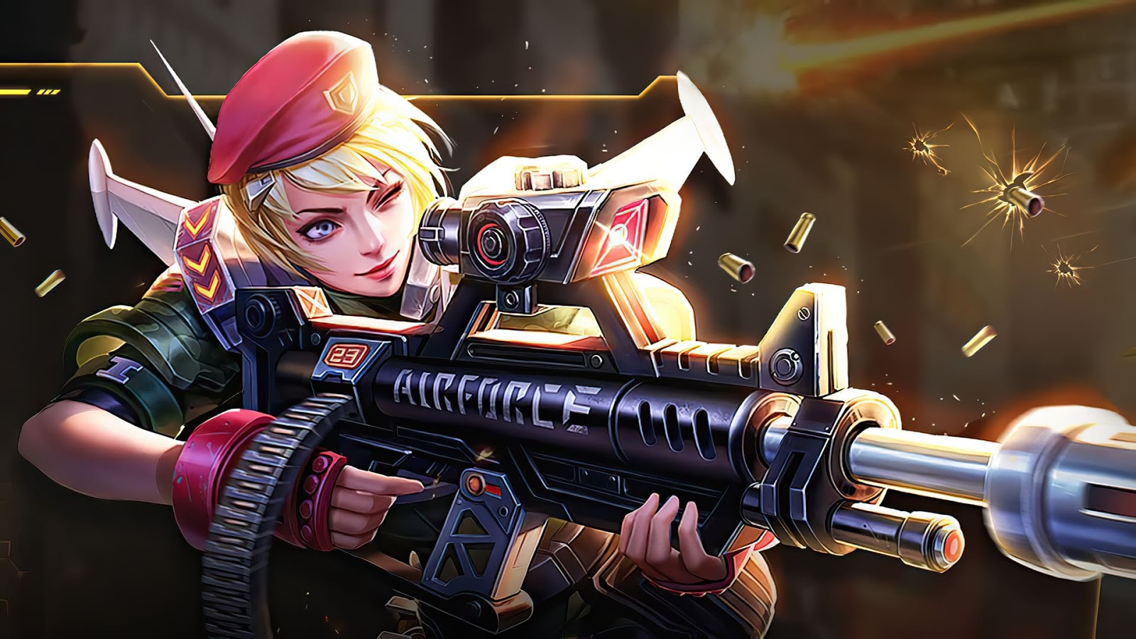 Wallpaper Kimmy Charge Leader Skin Mobile Legends HD for PC