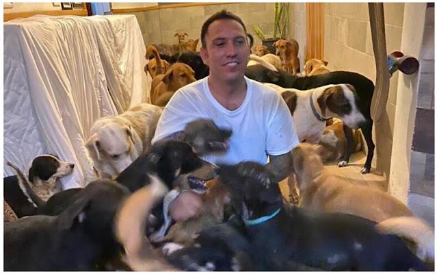 Мужчина впустил в дом 300 животных и спас их от урагана