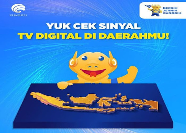 Cek Jangkauan Siaran TV Digital DVBT2