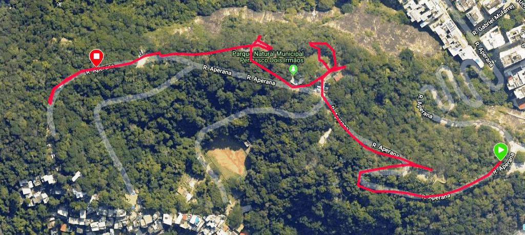 Como chegar ao Parque Penhasco Dois Irmãos
