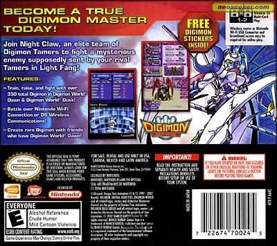 💄 Digimon world dusk ds rom download | Digimon World DS