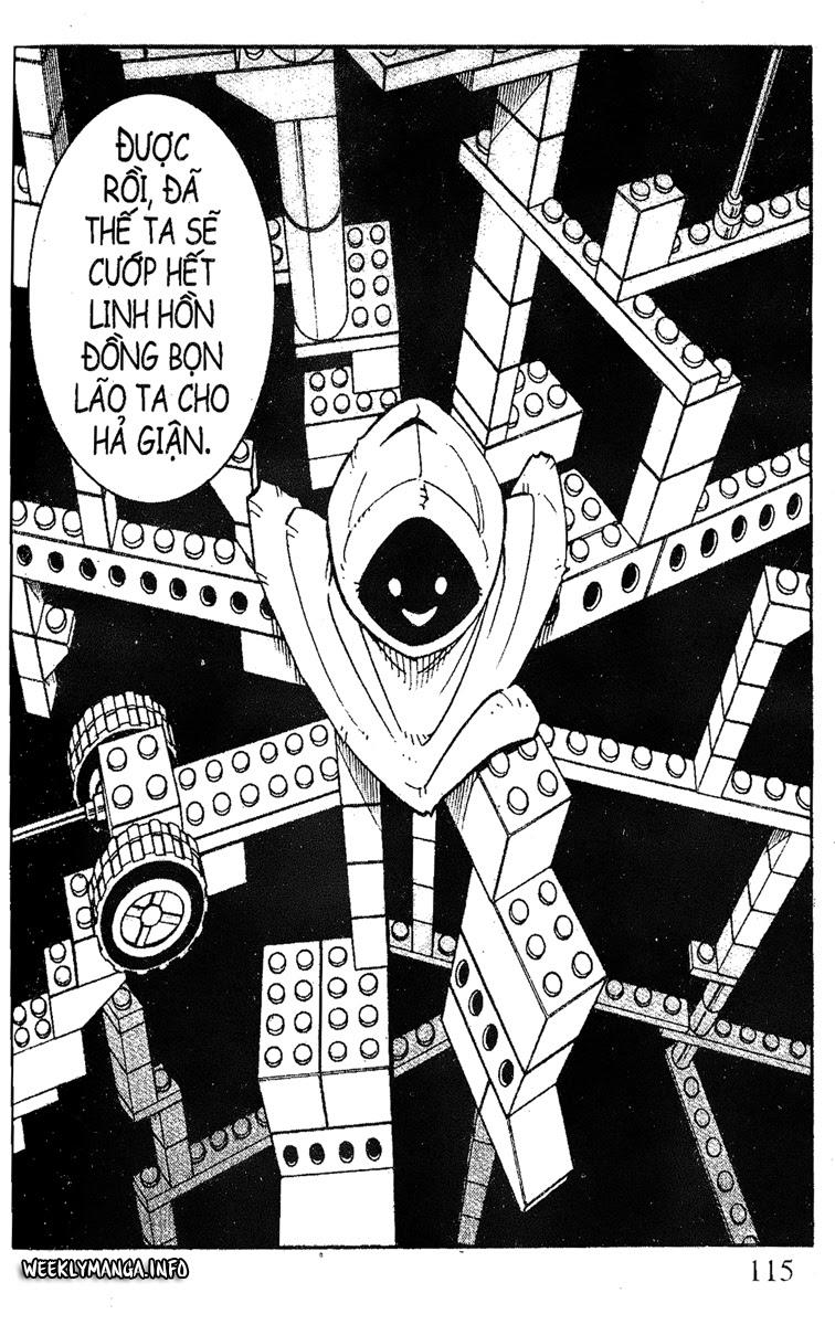 Shaman King [Vua pháp thuật] chap 184 trang 4