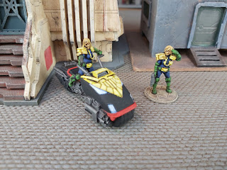 The Judge Anderson figures by Warlord Games