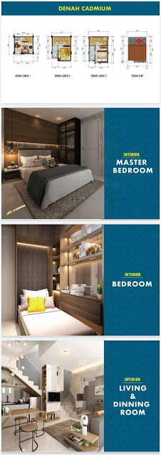 Desain Crystal Aparthouse Blok M Jaksel