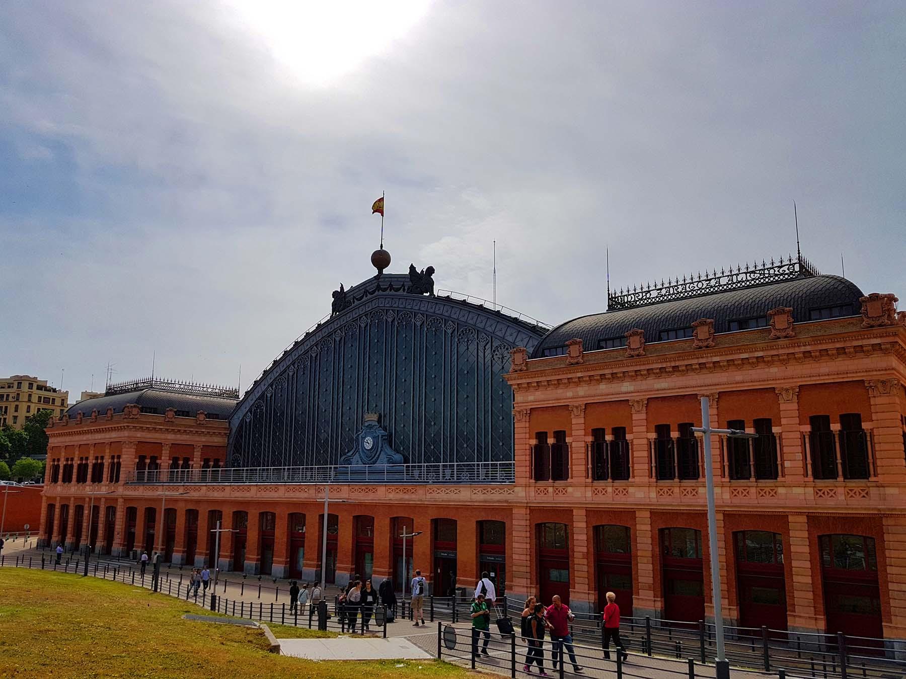 10 Lindas estações de trem: Atocha, Madri
