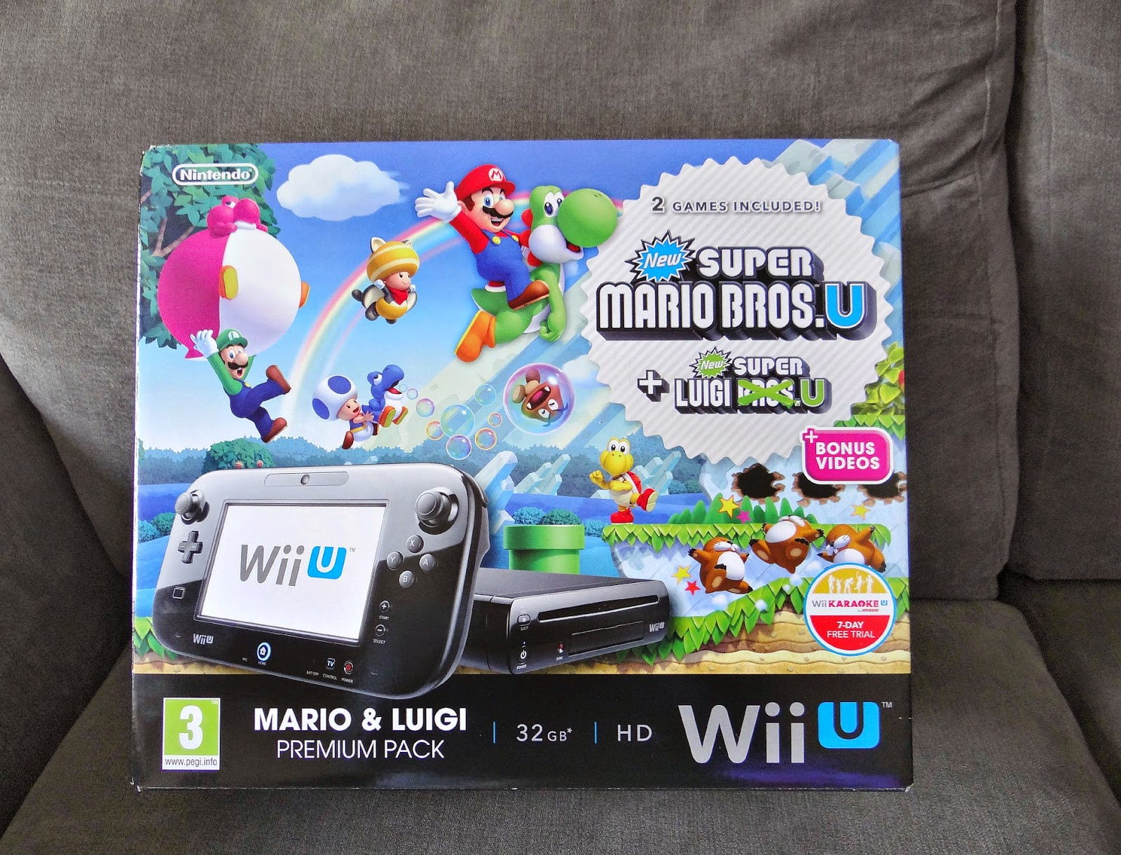 Nintendo Wii U, Mario Brothers, perfect console for parties
