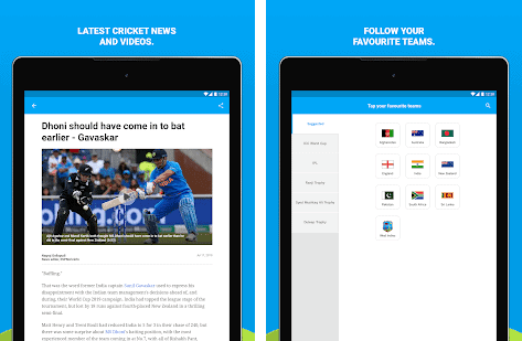 ESPNCricinfo - Live Cricket Scores, News Video