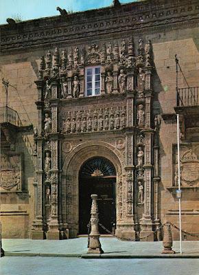 postal, Santiago, hostal Reyes Católicos