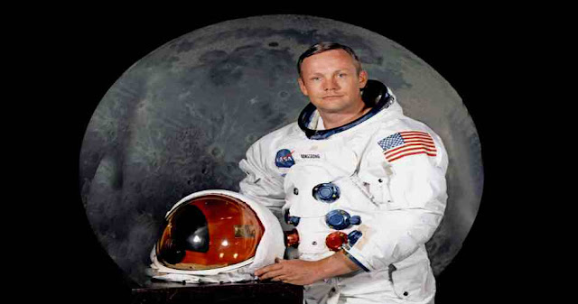 Who was the first man to set foot on the Moon?