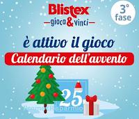 Logo Blistex ''Calendario dell'Avvento 2019'': Gioca e vinci gratis kit di prodotti