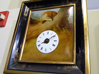 antique picture clock