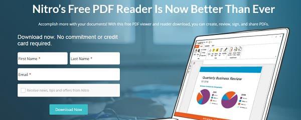 برنامج Nitro Reader لقراءة الملفات