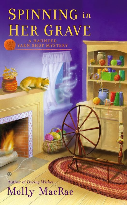 Guest Blog by Molly MacRae, author of the Haunted Yarn Shop Mysteries - March 3, 2014