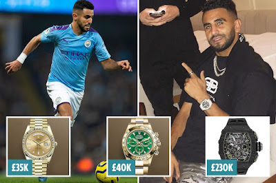 image result for Riyad Mahrez robbery news
