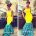 Checkout This Awesome Ankara Mixed With Lace Design