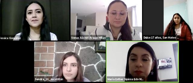 Dialoga Gobernación con adolescentes sobre erradicación y prevención de violencias