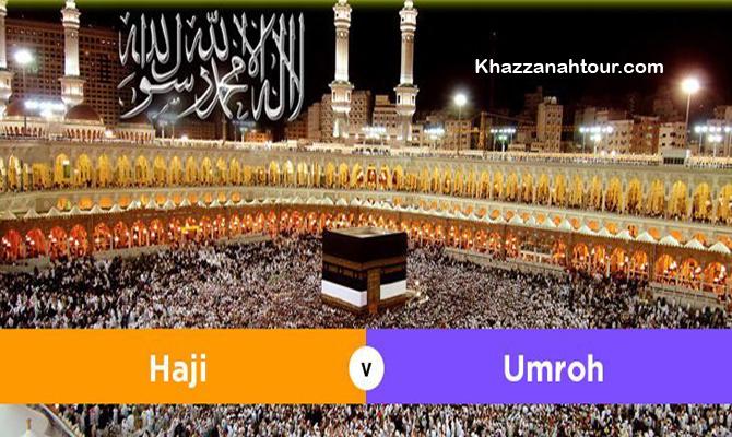 Perbedaan Haji dan Umroh dalam pelaksanaanya